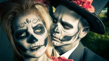 25 Easy & Fresh Couple Halloween Makeup Ideas 2019