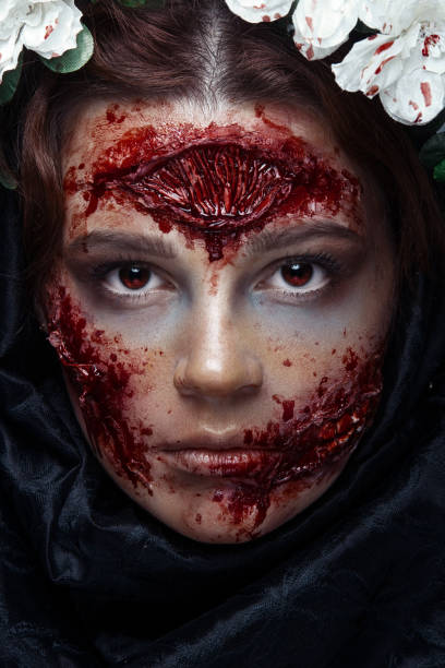 35 Creepy and Amazing Halloween Makeup Ideas to Try in 2019