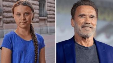 Arnold Schwarzenegger praises climate activist Greta Thunberg